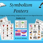 Symbolism Posters Literary Symbols Common Core