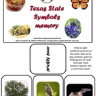 Symbols of Texas Memory Game