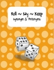 Synonym &amp; Antonym Roll~Say~Keep