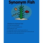 Synonym Fishing For Elementary Students