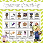 Synonym Match Up Game