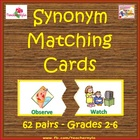 Synonym Matching Cards for Diverse Learners