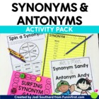 Synonym and Antonym Activity Pack