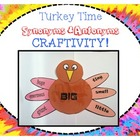Synonyms & Antonyms Turkey CRAFTIVITY!
