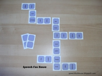 Synonyms Dominoes Game - 8 sets