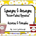 Synonyms and Antonyms - Action-Packed Opposites