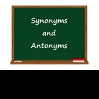 Synonyms and Antonyms on the SMARTboard