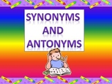 Synonyms and Antonyoms For Kids CPS Clickers Version