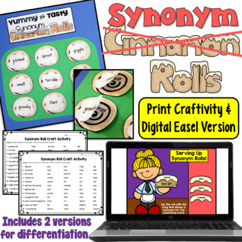 http://www.teacherspayteachers.com/Product/Synonyms-craftivity-grades-3-and-up-Synonym-Rolls-390696