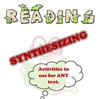 Synthesizing Package - Activities to Use for ANY Text