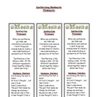 Synthesizing - Reading Comprehension Strategy Bookmark