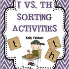 T vs. Th Sorting Activities