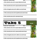 TAKE 5 - Set #1 - Grammar &amp; Sentence Writing Skills - Comm