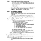 TAKS Essay Writing 4-Step Plan