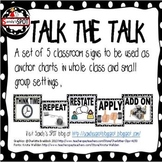 TALK THE TALK ANCHOR CHARTS