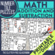 TASK CARDS: Winter 6-Packet Bundle {addition, subtraction,