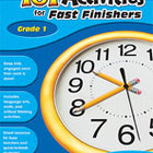 101 Activities For Fast Finishers (Grade 1) [Enhanced eBook]