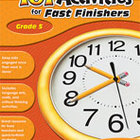 101 Activities For Fast Finishers (Grades 5) [Enhanced eBook]