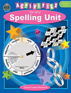 Activities for Any Spelling Unit (Enhanced eBook)