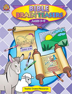 Bible Brain Teasers (Enhanced eBook)