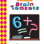 Brain Teasers, Grade 6 Workbook