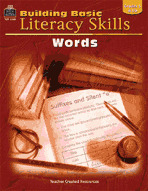 Building Basic Literacy Skills: Words (Enhanced eBook)