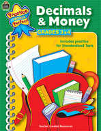 Decimals and Money: Grades 3-4 (Enhanced eBook)