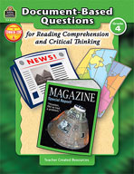 Document-Based Questions for Reading Comprehension and Cri