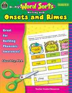 Dr. Fry's Word Sorts: Working with Onsets and Rimes (Enhan