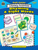 Full-Color Literacy Activities: Rhyming and Sight Words (E