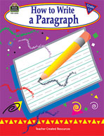 How to Write a Paragraph: Grades 1-3 (Enhanced eBook)