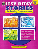 Itsy Bitsy Stories for Reading Comprehension (Kindergarten)