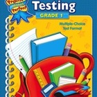 Math Testing Grade 1 (Enhanced eBook)