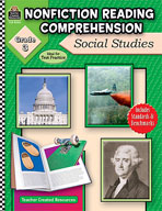 Nonfiction Reading Comprehension: Social Studies, Grade 3
