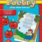 Phonics Poetry Using Word Families (Enhanced eBook)