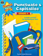 Punctuate & Capitalize Grade 4