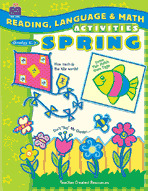 Reading, Language & Math Activities: Spring