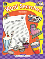 Start to Finish: Word Searches Grades 3-4