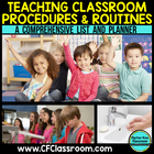 TEACHING PROCEDURES &amp; ROUTINES {Blackline Design} classroo