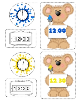 TEDDY TIME  2 Math Centers