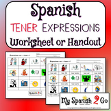 TENER EXPRESSIONS:  Spanish Handout
