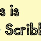 """TG Scribble"" Font for Personal and Commercial Use"