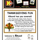 THANKSGIVING FUN!  Everything you need to make Thanksgivin