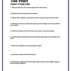 THE PEARL by John Steinbeck Chapter IV Study Guide Questio