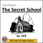 THE SECRET SCHOOL, by Avi: A Novel Study