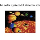 THE SOLAR SYSTEM ENGLISH-SPANISH