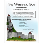 THE WHIPPING BOY- A NOVEL STUDY Gr. 3-6