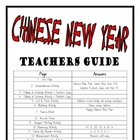 """THEME BOOKS"" - LOWER PRIMARY!! Chinese New Year Workbook!!"