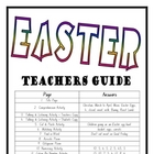 """THEME BOOKS"" - LOWER PRIMARY!! Easter Workbook!!"