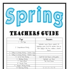 """THEME BOOKS"" - LOWER PRIMARY!! Spring Workbook!! AUS. ONLY"